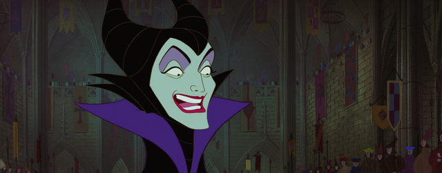 File:Maleficent laughing ironicaly - kmp.PNG