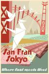 San Fransokyo Travel Poster 02