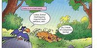 Simba Runs Away from Home