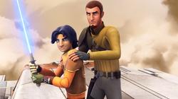Ezra training to become a Jedi