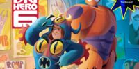 Big Hero 6 Pictureback with Tattoos