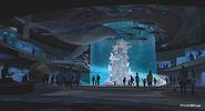 Finding Dory Marine Life Institute Concept Art