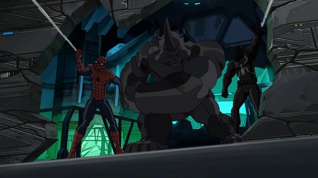 File:Agent Venom Rhino Spider-Man USMWW 2.png