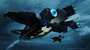 Helicarrier Avengers Concept Art 2