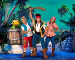 Disney Junior Live Pirate and Princess Adventure - Jake, Izzy ,Cubby and Skully