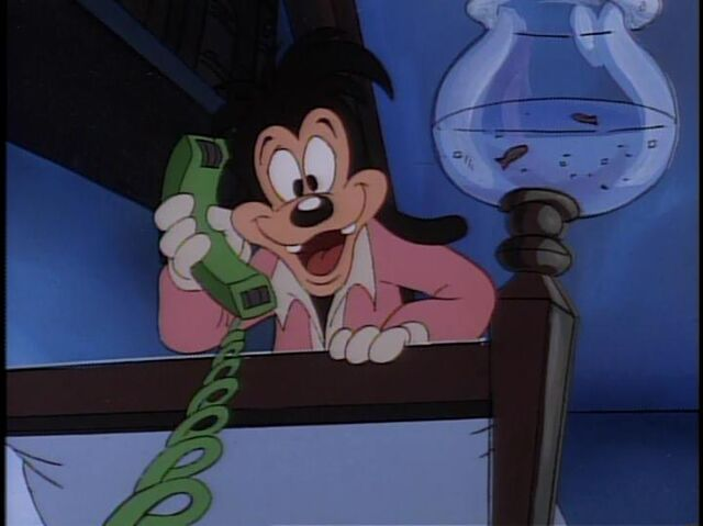 File:Max's excitement when P.J. calls to inform him that the Goofs have arrived!