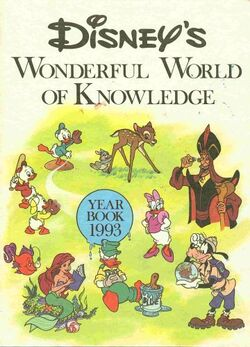 Disneys wonderful world of knowledge year book 1993