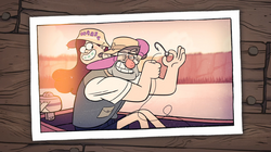 GF S1e2 Stan and Mabel Photograph
