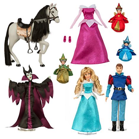 File:Sleeping Beauty 2014 Disney Store Doll Set.jpg