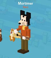 Disney crossy road Mortimer KJBat