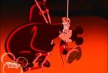 Mickey Foils the Phantom Blot - Blot talks to Mickey