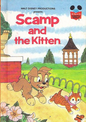 File:Scamp and the kitten.jpg