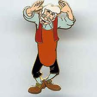 Geppetto Pin