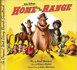 Home on the range soundtrack cover