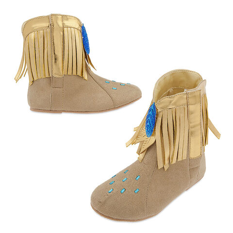 File:Pocahontas Costume Shoes for Kids.jpg