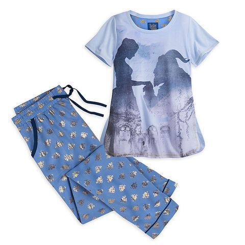 File:Beauty and the Beast Pajama Set for Women - Live Action Film.jpg