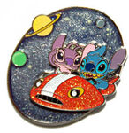 HKDL - Stitch & Angel in a Space Cruiser