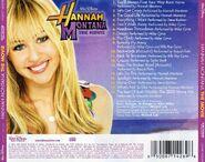 Hannah Montana The Movie CD Back Cover