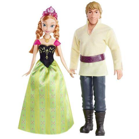 File:Mattel Disney Frozen Princess Anna of Arendelle and Kristoff Dolls.jpg