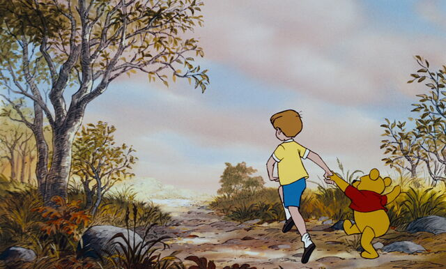 File:Winnie the Pooh and Christopher Robin are both running off together.jpg