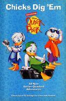 Disney's Quack Pack - TV Series - 1996 Promotional Print Ad