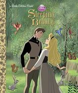 Sleeping Beauty Little Golden Book 2014 Reprint