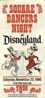 Square Dancers Night at Disneyland 1980