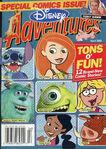 Disney Adventures Magazine cover April 2003 comics Kim Possible