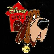 Disney dogs Pin