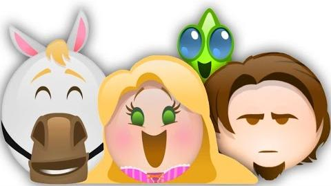 Tangled as told by Emoji Disney