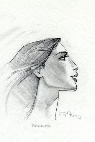 File:Disney's Pocahontas - Concept Art by John Alvin - Pocahontas.jpg