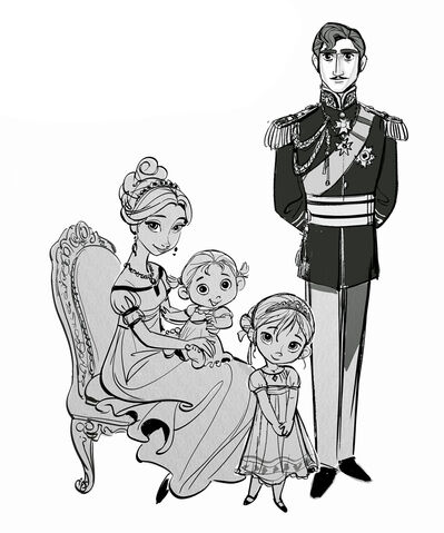 File:The Royal Family of Arendelle Concept Art.jpg