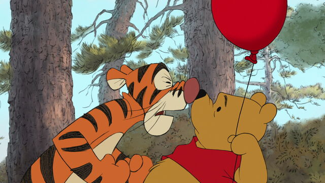 File:Tigger is telling Pooh Bear he's the only one.jpg