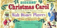 An Adaptation of Dickens' Christmas Carol, Performed by The Walt Disney Players