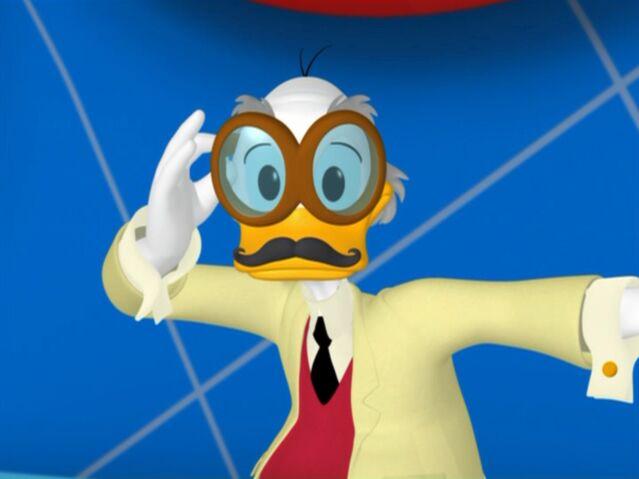 File:MinniesMasquerade-Professor Von Drake Fake Mustache.jpg