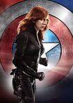 Captain America Civil War - Black Widow