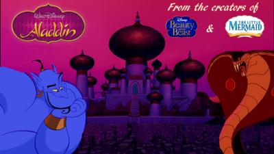 Aladdin Genie and Jafar