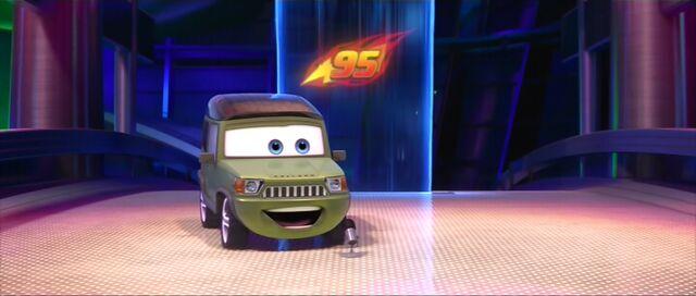File:Miles introducing Lightning McQueen.jpg