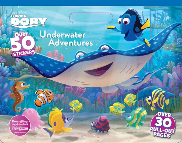 File:Finding Dory Book - Underwater Adventures.jpg