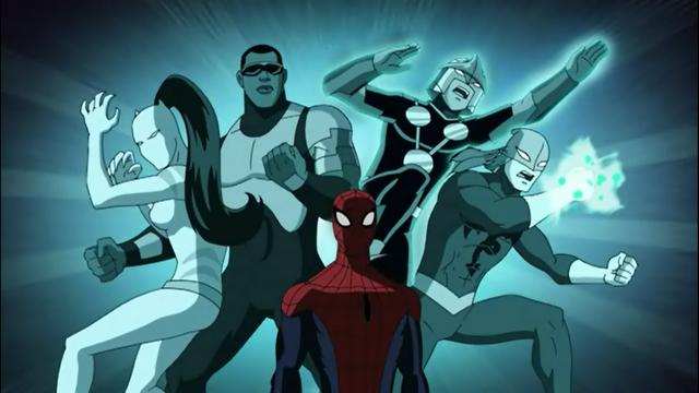 File:Ultimate Spider-Man team.png
