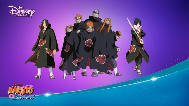 File:Disney Channel Naruto shippuden 2016 romania akatsuki sasuke and itachi.jpeg
