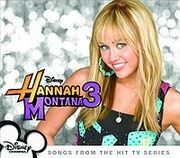 Hannah Montana Vol 3 soundtrack album cover
