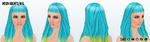 AlienDubstep - Neon Nights Wig