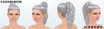 DitchYourResolutionsDay - Platinum High Pony Wig