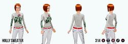 JingleBellsClothing - Holly Sweater