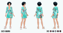 HomeComfortSpin - Cozy Kimono
