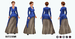 Historical - Bustle Gown