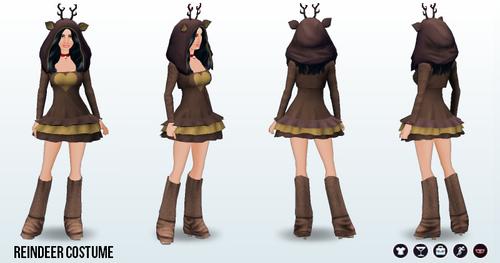 ElvesForElflings - Reindeer Costume