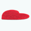 Market - Red Heart Rug