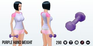 SummerGames - Purple Hand Weight